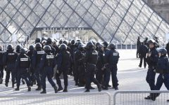 Soldier by Louvre Museum Opens Fire on Attacker
