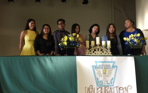 NHS Inauguration for Nogales New Members