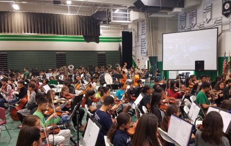 Nogales Holds District Music Festival in Gymnasium