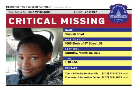 Missing Girls in D.C