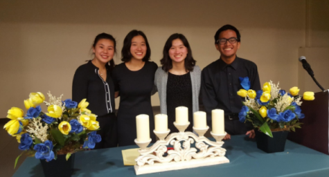NHS Inauguration Welcomes New Members