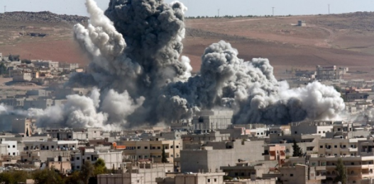 Tension increases as U.S. attacks Syria