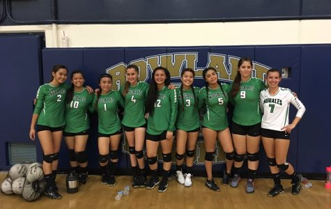 Nogales volleyball team score a big win against Bassett