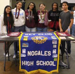 A look into Nogales High School's 2018 Club Rush