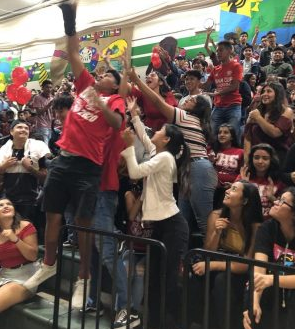 Nogales' anticipated sports/welcome back rally