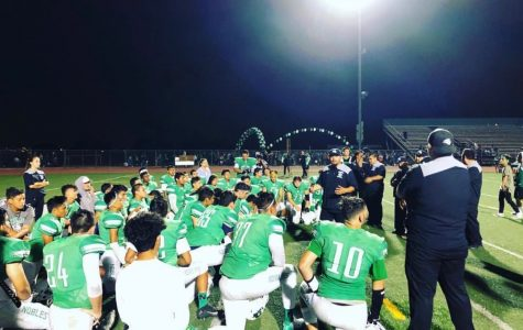 Nogales' Varsity Football Team takes a Heartbreaking Loss at Battle of the Tracks