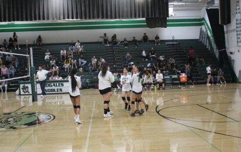 The Nogales Junior Varsity Volleyball Team's Tough Loss Against Azusa High School