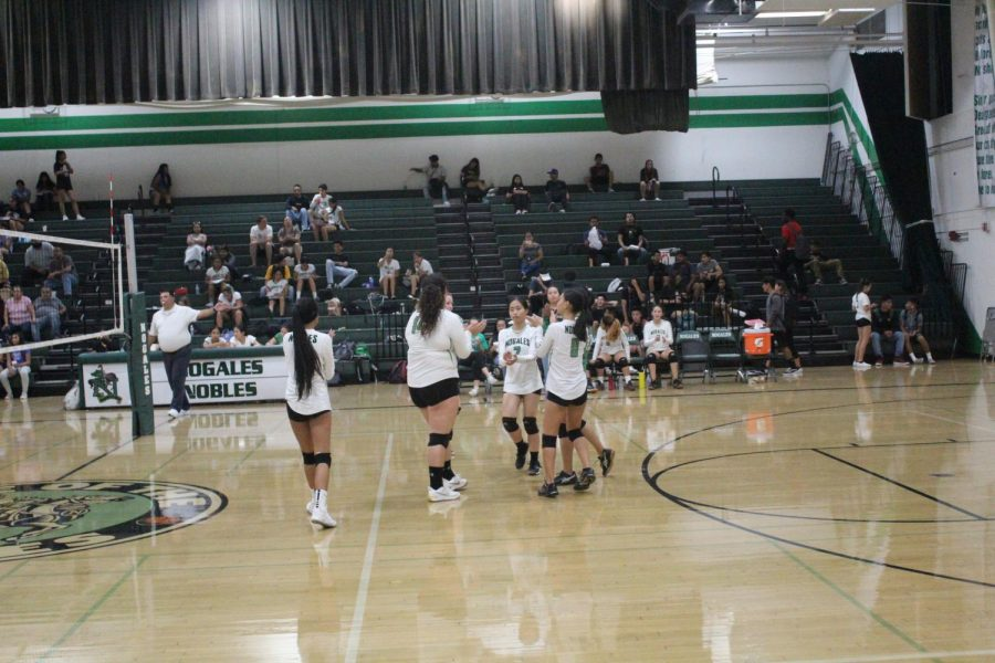The+Nogales+Junior+Varsity+Volleyball+Team%E2%80%99s+Tough+Loss+Against+Azusa+High+School