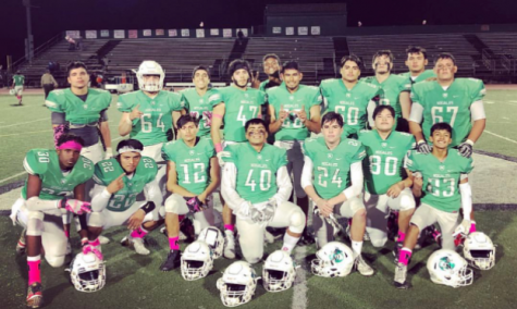 The Nogales Football team is off to Playoffs