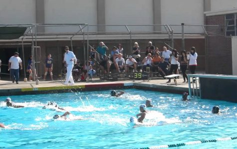 Nogales girls water polo team victory