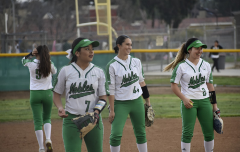 Nogales' softball teams played hard against Bell Gardens