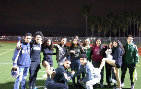 Nogales Track team takes on Baldwin Park