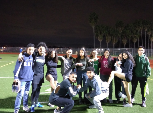 Nogales+Track+team+takes+on+Baldwin+Park
