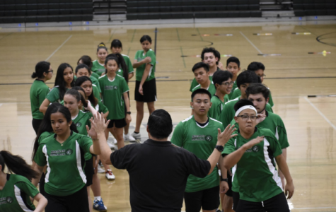 The Nogales badminton team's tough loss against Pasadena Poly High School