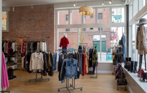 Growing popularity of thrift stores