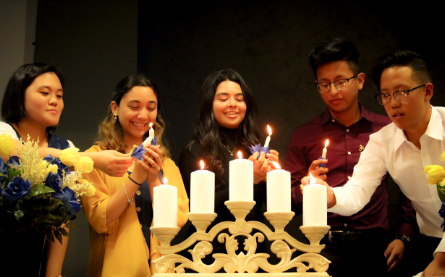 National Honors Society Inauguration lighting the way to the future