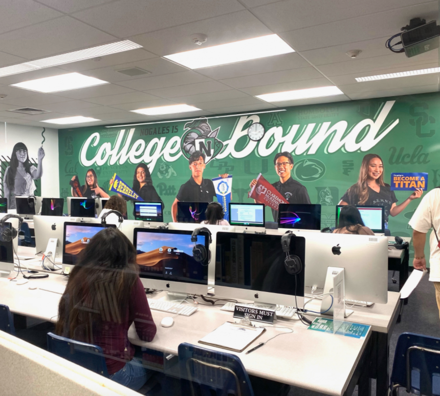 College and Career Center is Now Open in the Library
