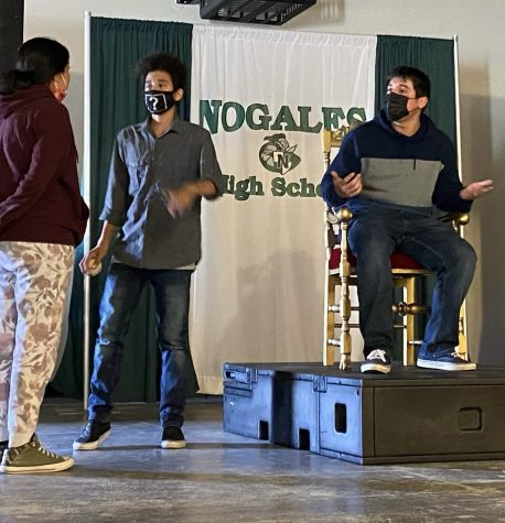 Nogales Drama Club to Perform their First Play of the Year
